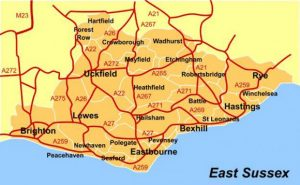 East Sussex - locksmith areas covered